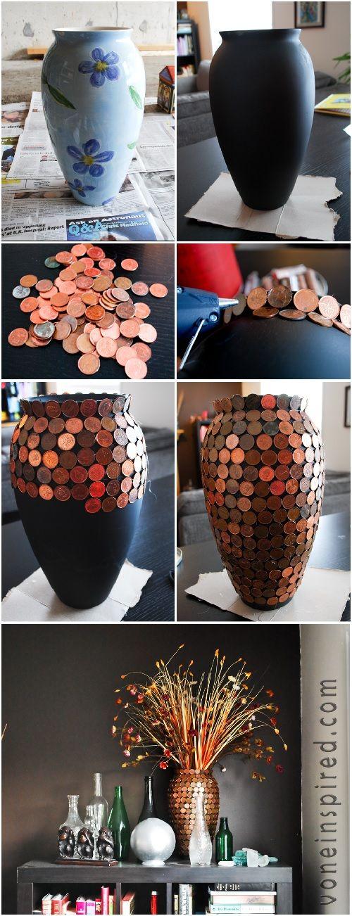 artesanato criativo com moedas 2