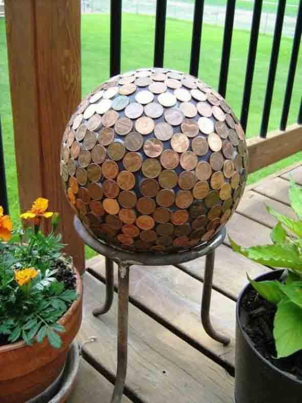 artesanato criativo com moedas 3