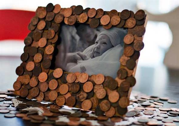 artesanato criativo com moedas 6