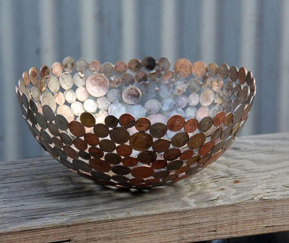 artesanato criativo com moedas 9