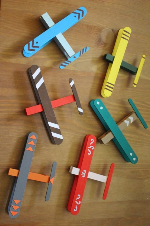 artesanato palitos picole brinquedos 1