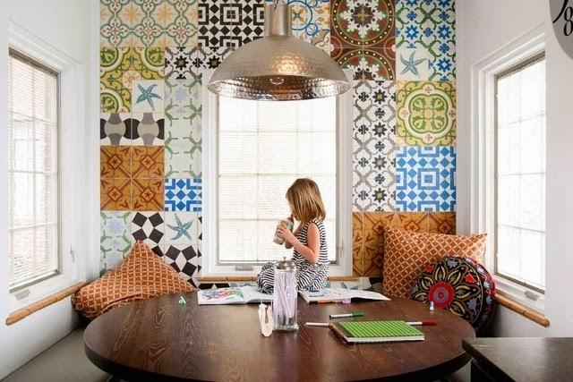 azulejos decorados cozinha