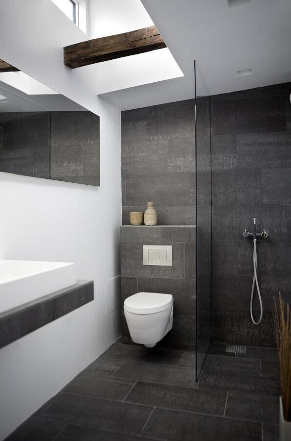 banheiro cinza branco 1