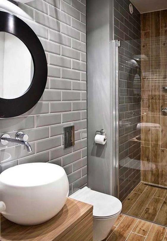 banheiro cinza madeira 1