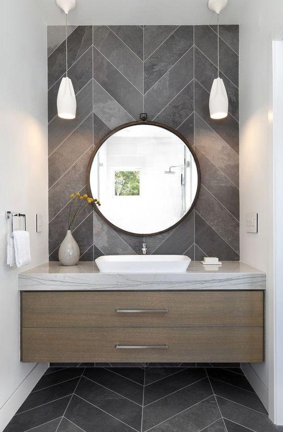 banheiro cinza madeira 3