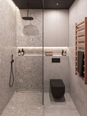 banheiro cinza preto 2