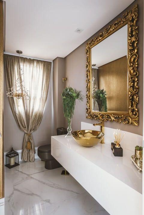 banheiro cuba colorida cobre 3