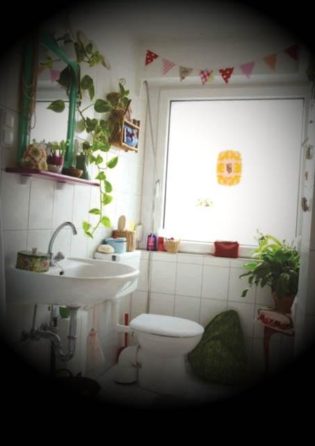 banheiro decorado com plantas dicas