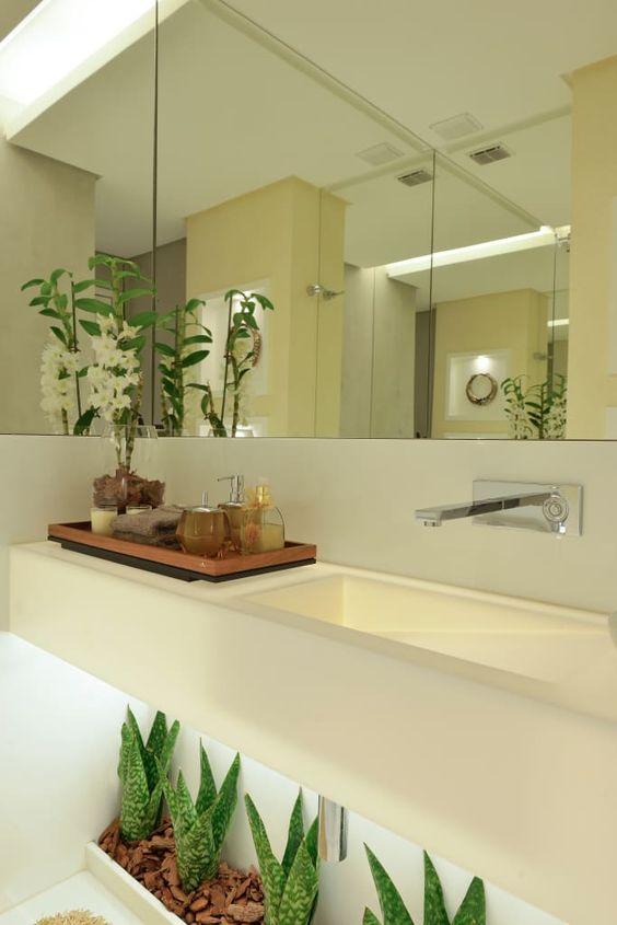 banheiro decorado plantas 3