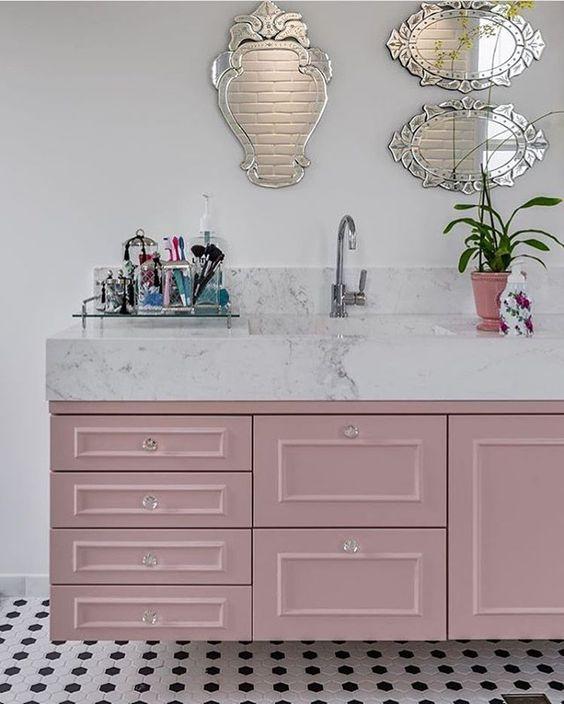 banheiro feminino decorado