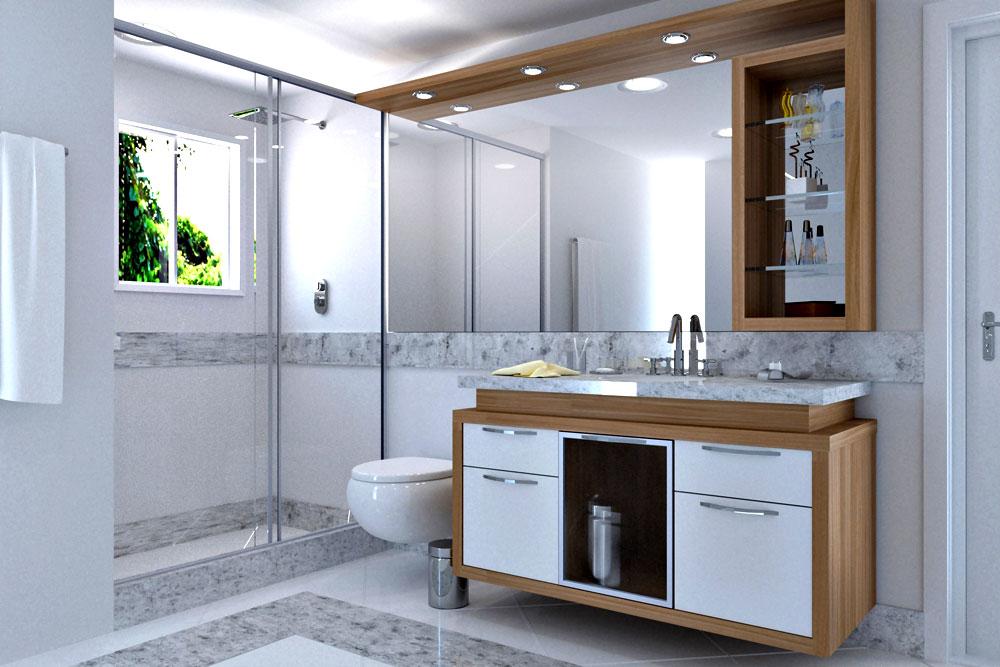 banheiro planejado moderno ideias