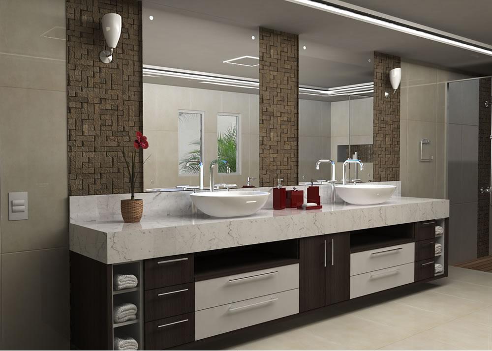 banheiro planejado moderno