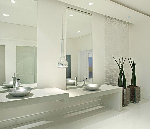 banheiros com porcelanato