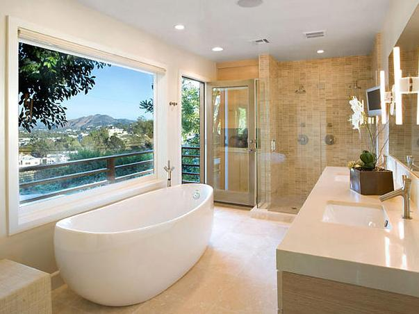 banheiros de luxo decorado