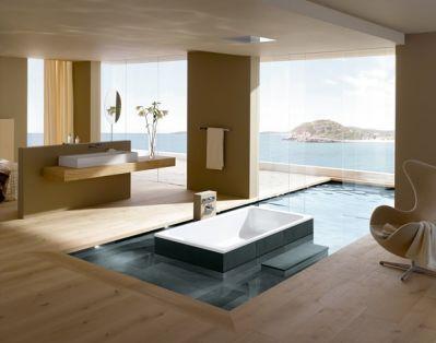 banheiros de luxo pequeno