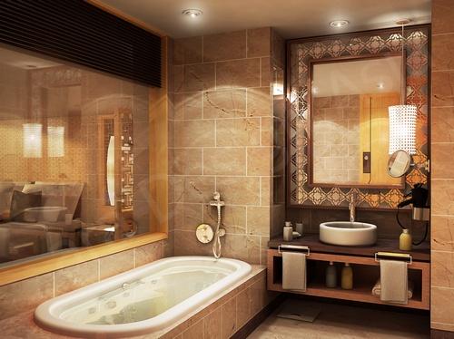 banheiros decorados rustico