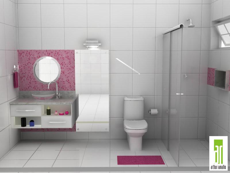 banheiros femininos decoracao