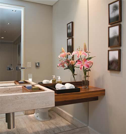 banheiros lavabos para surpreender as visitas