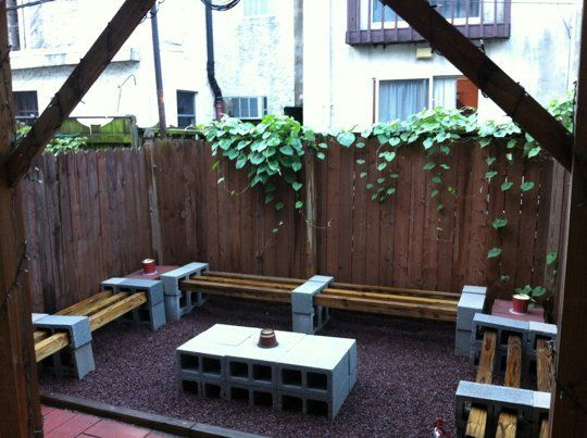 blocos cimento jardim 5