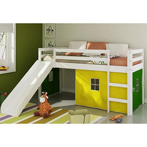 cama com escada infantil