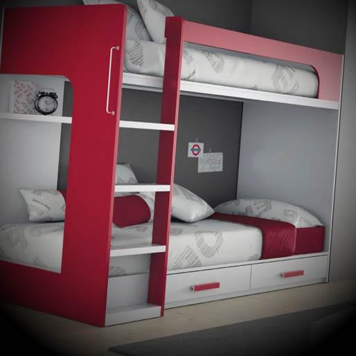 cama moderna alta