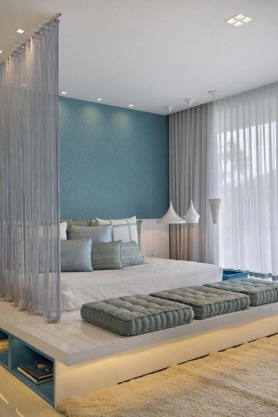 cama moderna casal chao