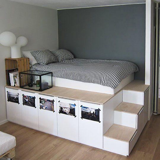 cama moderna crianca dupla