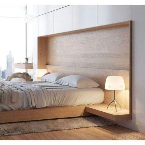 cama moderna madeira criativa