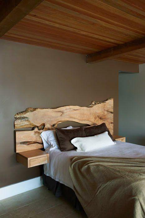 cama moderna madeira rustica