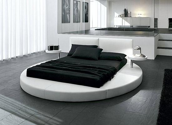 cama redonda moderna