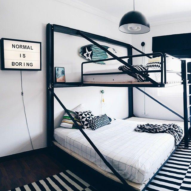 cama suspensa dupla