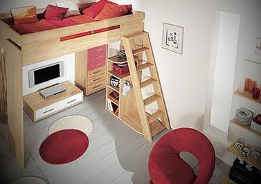 camas modernas elevadas