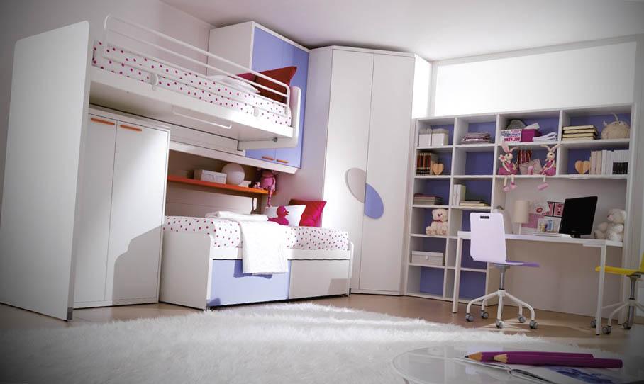 camas altas composizione