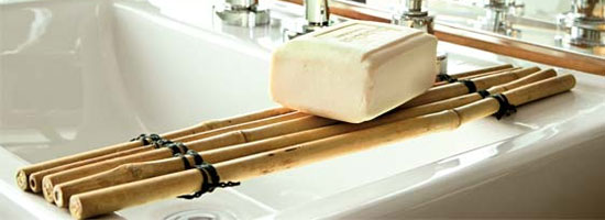 casa banho bambu