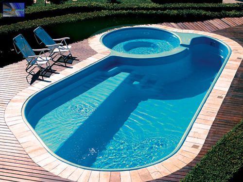 casa com piscina fibra