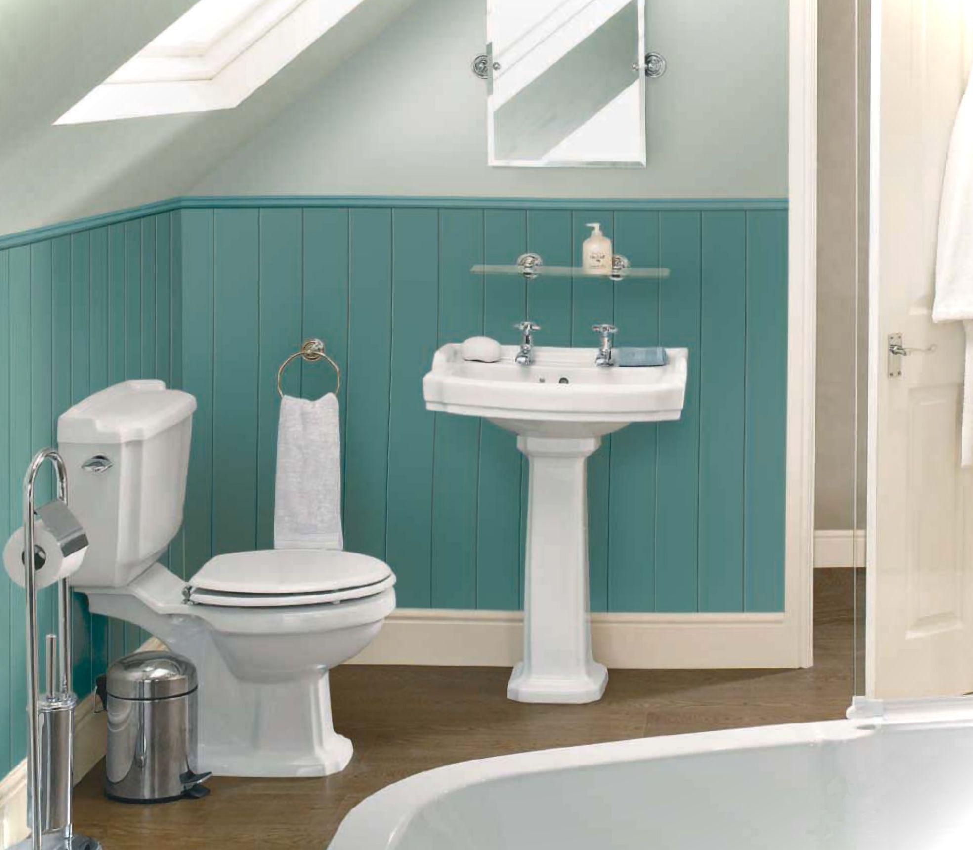 casa de banho pequena cores