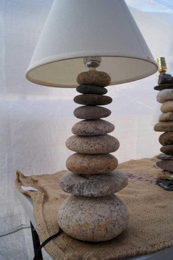 casa decorada com rochas 13