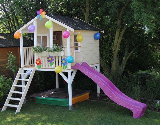 casa na arvore infantil colorida