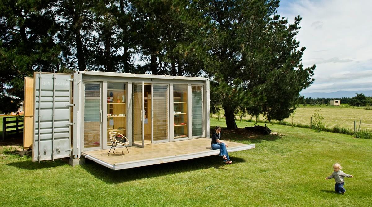 Casas Feitas com Containers