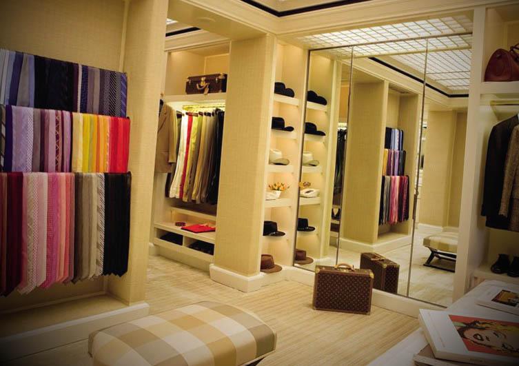 closet no quarto bonito