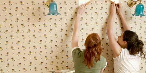 como colar papel parede