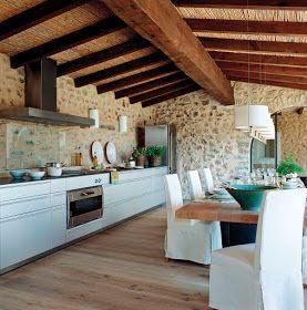 como decorar casas de estilo rural 5