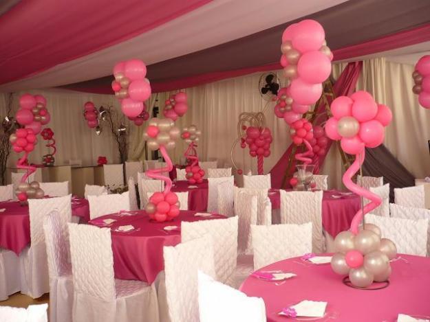 como decorar com baloes
