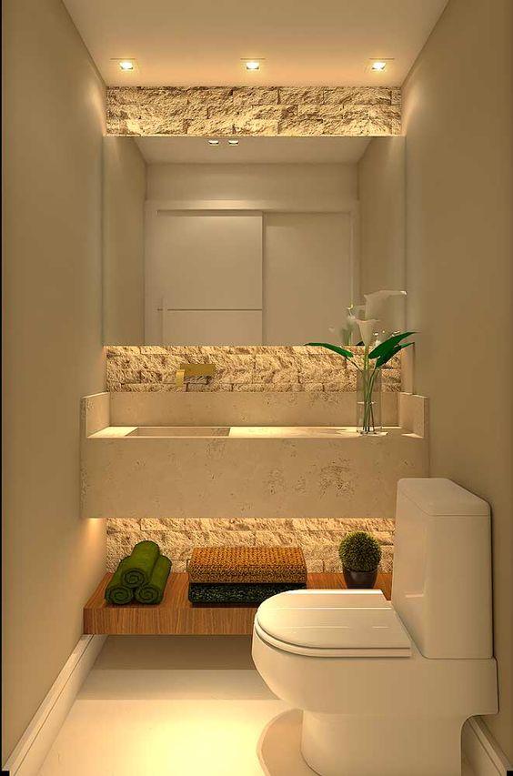 como decorar o lavabo 1