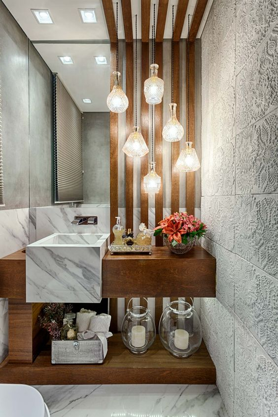 como decorar o lavabo 7