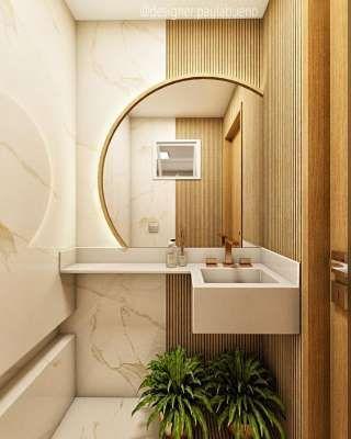 como decorar o lavabo 9