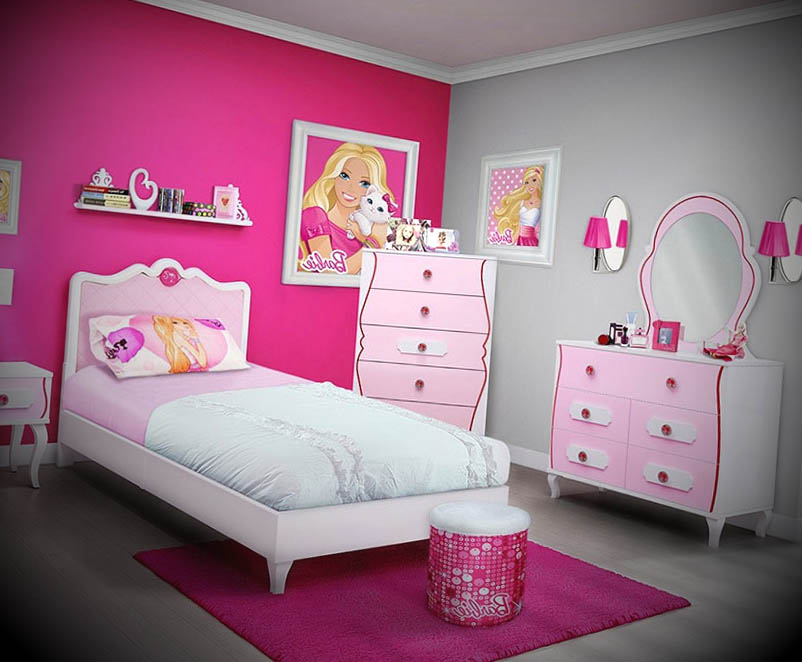 como decorar quarto da barbie