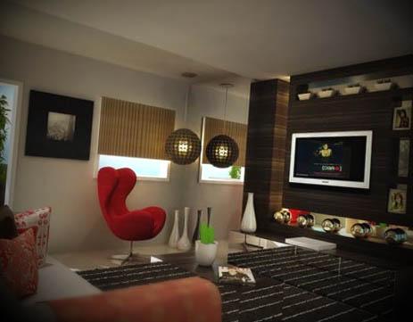 como decorar uma sala moderna