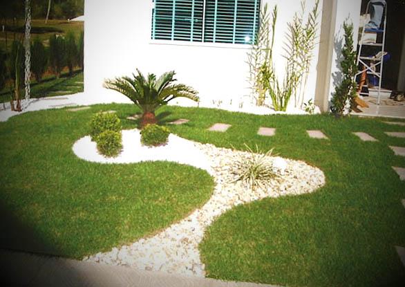 como fazer um jardim simples barato