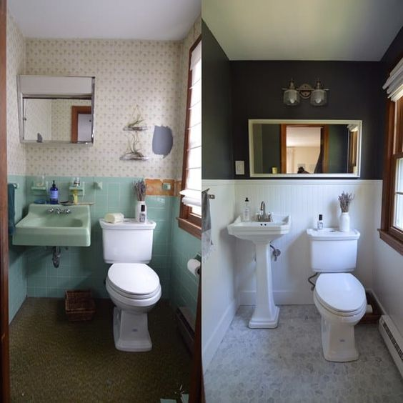 como pintar azulejos do banheiro 4